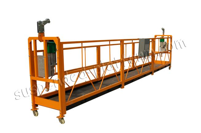 suspended platform swing stage,temporary suspended platforms